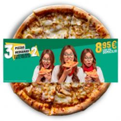 Oferta 3 Pizzas...