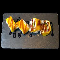 Uramaki hot mango